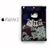 101 Dalmation Watching TV together for custom case iPad Air 1/iPad Air 2