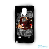 10th doctor who capture for Samsung Samsung Galaxy Note 2/Note 3/Note 4/Note 5/Note Edge phonecases