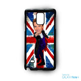12th doctor who egg head caricature for Samsung Samsung Galaxy Note 2/Note 3/Note 4/Note 5/Note Edge phonecases