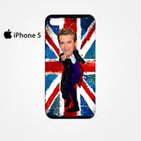 12th doctor who egg head caricature for Iphone 4/4S Iphone 5/5S/5C Iphone 6/6S/6S Plus/6 Plus 3D Phone case