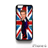 12th doctor who egg head caricature for Iphone 4/4S Iphone 5/5S/5C Iphone 6/6S/6S Plus/6 Plus Phone case