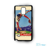 1953 Cardinals program front for Samsung Samsung Galaxy Note 2/Note 3/Note 4/Note 5/Note Edge phonecases