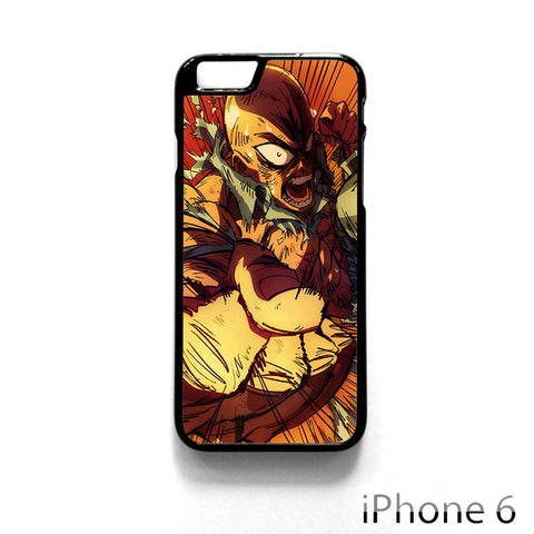 1Punch Man Roar for Iphone 4/4S Iphone 5/5S/5C Iphone 6/6S/6S Plus/6 Plus Phone case