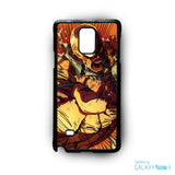 1Punch Man Roar for phone case Samsung Galaxy Note 2/Note 3/Note 4/Note 5/Note Edge
