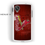 1 St. Louis Cardinals for Nexus 4/Nexus 5 phonecases