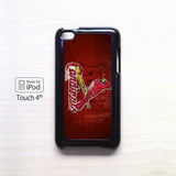 1 St. Louis Cardinals for Ipod 4/Ipod 5 apple case