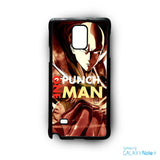 1 punch man for phone case Samsung Galaxy Note 2/Note 3/Note 4/Note 5/Note Edge