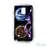 2 Element water and earth for Samsung Samsung Galaxy Note 2/Note 3/Note 4/Note 5/Note Edge phonecases