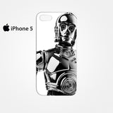 3PO Star Wars for Iphone 4/4S Iphone 5/5S/5C Iphone 6/6S/6S Plus/6 Plus 3D Phone case