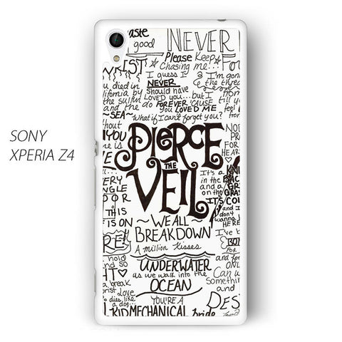 3 Pierce the Veil for Sony Xperia Z1/Z2/Z3 phonecases