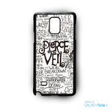 3 Pierce the Veil for phone case Samsung Galaxy Note 2/Note 3/Note 4/Note 5/Note Edge