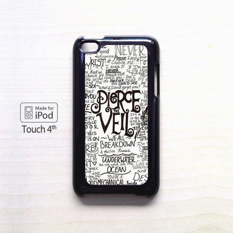 3 Pierce the Veil for apple case iPod 4/iPod 5