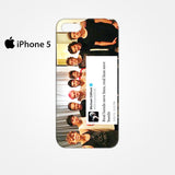 5SOS And One Direction Fan Twit for Iphone 4/4S Iphone 5/5S/5C Iphone 6/6S/6S Plus/6 Plus 3D Phone case