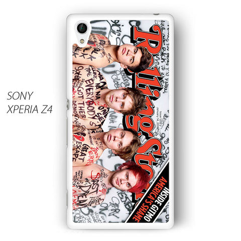 5 SOS Naked Rolling Stone for Sony Xperia Z1/Z2/Z3 phonecases