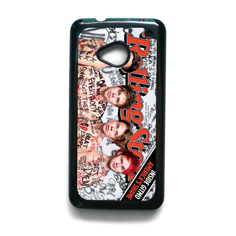 5 SOS Naked Rolling Stone for HTC One M7/M8/M9 Phonecases