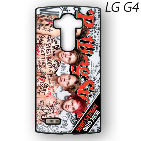 5 SOS Naked Rolling Stone for LG G3/LG G4 Phonecases
