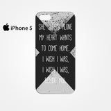 5 SOS Seconds Of Summer Lyrics for Iphone 4/4S Iphone 5/5S/5C Iphone 6/6S/6S Plus/6 Plus 3D Phone case