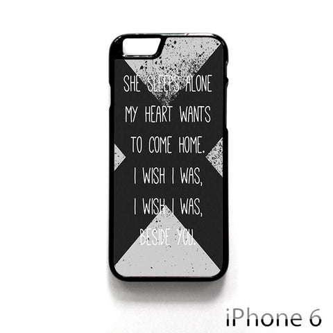 5 SOS Seconds Of Summer Lyrics for Iphone 4/4S Iphone 5/5S/5C Iphone 6/6S/6S Plus/6 Plus Phone case