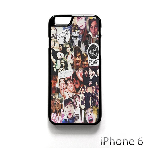 5 SOS Seconds Of Summer for Iphone 4/4S Iphone 5/5S/5C Iphone 6/6S/6S Plus/6 Plus Phone case