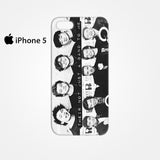 5 Seconds Of Summer One Direction Their Not Just a Band To Me for Iphone 4/4S Iphone 5/5S/5C Iphone 6/6S/6S Plus/6 Plus 3D Phone case