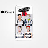 5 Seconds Of Summers 5 SOS Calum Ashton Luke Michele for Iphone 4/4S Iphone 5/5S/5C Iphone 6/6S/6S Plus/6 Plus 3D Phone case