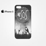 5sos background edit lock screen for Iphone 4/4S Iphone 5/5S/5C Iphone 6/6S/6S Plus/6 Plus 3D Phone case