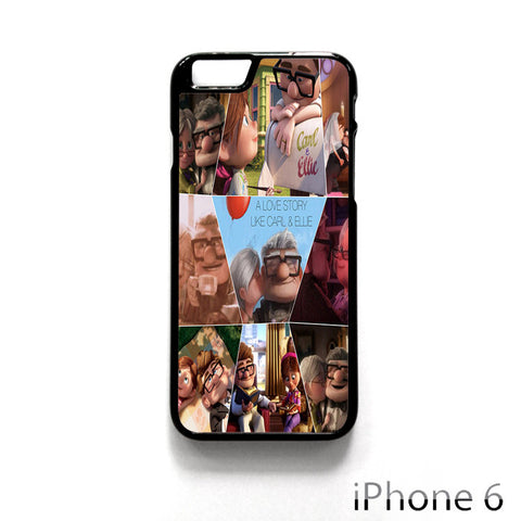 A Love Story Carl And Ellie Up Movie for Iphone 4/4S Iphone 5/5S/5C Iphone 6/6S/6S Plus/6 Plus Phone case