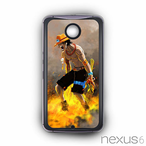 Ace One piece for Nexus 6 phonecases