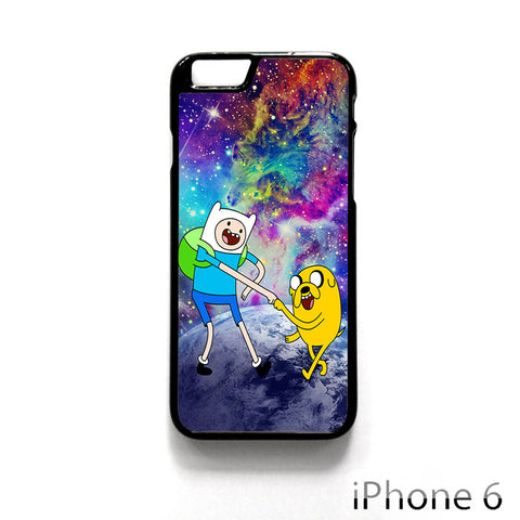 Adventure Time Jake and Finn Nebula Space for Iphone 4/4S Iphone 5/5S/5C Iphone 6/6S/6S Plus/6 Plus Phone case