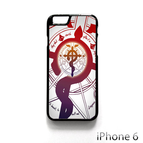 Alchemist Fullmetal Symbol for Iphone 4/4S Iphone 5/5S/5C Iphone 6/6S/6S Plus/6 Plus Phone case