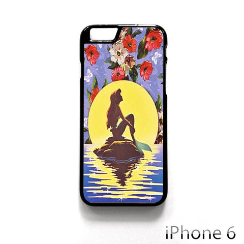 Ariel Little Mermaid Floral Flower Vintage for Iphone 4/4S Iphone 5/5S/5C Iphone 6/6S/6S Plus/6 Plus Phone case