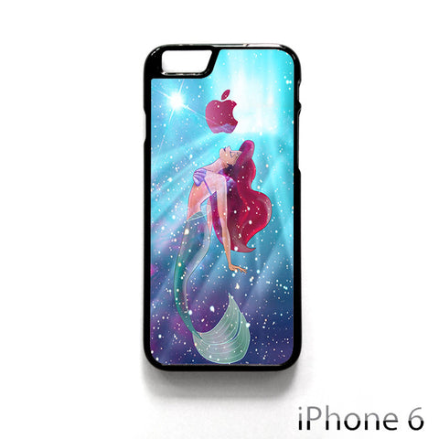Ariel the little mermaid galaxy for Iphone 4/4S Iphone 5/5S/5C Iphone 6/6S/6S Plus/6 Plus Phone case