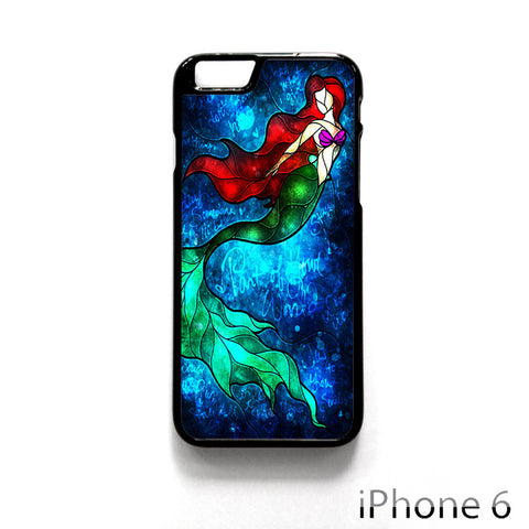 Art Of Little Mermaid Ariel Painting for Iphone 4/4S Iphone 5/5S/5C Iphone 6/6S/6S Plus/6 Plus Phone case