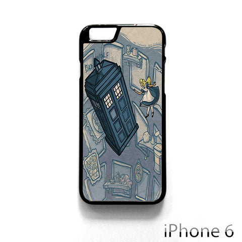Bad Wolf Police Box Dr Who Alice Wonderland for Iphone 4/4S Iphone 5/5S/5C Iphone 6/6S/6S Plus/6 Plus Phone case