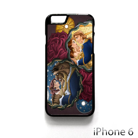 Beauty And The Beast Disney Princess for Iphone 4/4S Iphone 5/5S/5C Iphone 6/6S/6S Plus/6 Plus Phone case
