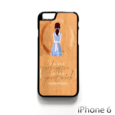 Beauty And The Beast Quote for Iphone 4/4S Iphone 5/5S/5C Iphone 6/6S/6S Plus/6 Plus Phone case