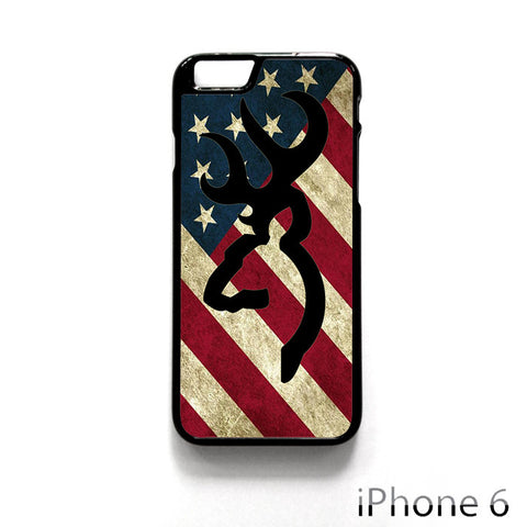 Browning Deer Camo America Flag for Iphone 4/4S Iphone 5/5S/5C Iphone 6/6S/6S Plus/6 Plus Phone case