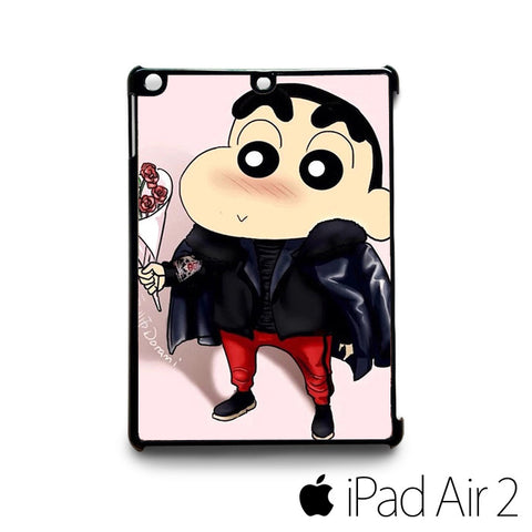 Crayon Shin Chan Cute Cartoon for custom case iPad 2/iPad Mini 2/iPad 3/iPad Mini 3/iPad 4/iPad Mini 4/iPad Air 1/iPad Air 2