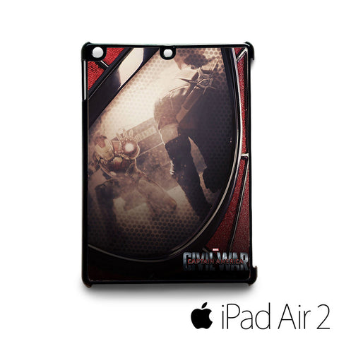 Fan made Posters captain america civil war for custom case iPad 2/iPad Mini 2/iPad 3/iPad Mini 3/iPad 4/iPad Mini 4/iPad Air 1/iPad Air 2