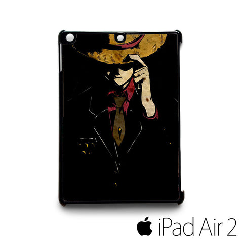 Monkey D Luffy Strong World Straight for custom case iPad 2/iPad Mini 2/iPad 3/iPad Mini 3/iPad 4/iPad Mini 4/iPad Air 1/iPad Air 2