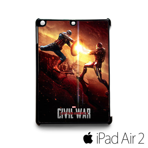 another fan made poster for captain america civil war for custom case iPad 2/iPad Mini 2/iPad 3/iPad Mini 3/iPad 4/iPad Mini 4/iPad Air 1/iPad Air 2
