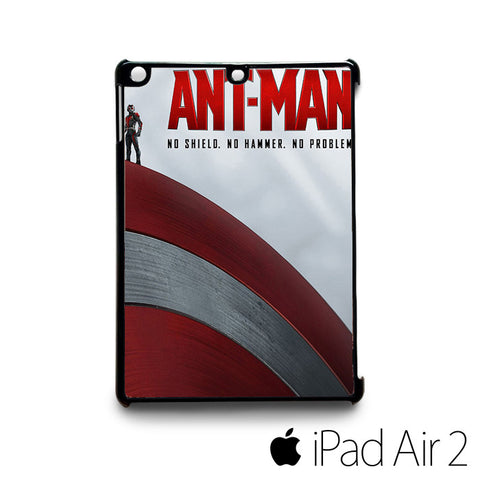 ant man poster captain america for custom case iPad 2/iPad Mini 2/iPad 3/iPad Mini 3/iPad 4/iPad Mini 4/iPad Air 1/iPad Air 2