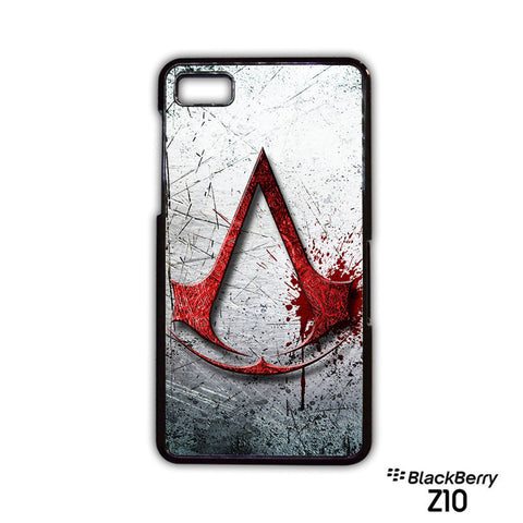 assassins creed logos for Blackberry Z10/Blackberry Q10 phonecase