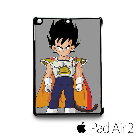 prince vegeta chibi for custom case iPad 2/iPad Mini 2/iPad 3/iPad Mini 3/iPad 4/iPad Mini 4/iPad Air 1/iPad Air 2