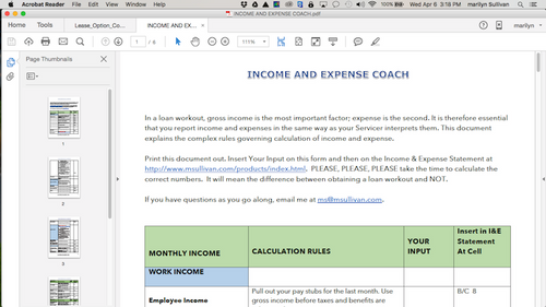 Income and Expense Coach