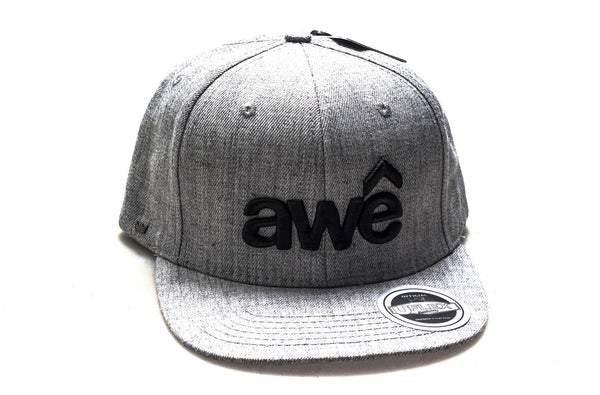 Awê (Black Embroidery / Grey Cap)