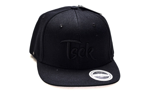 Tsek (Black Embroidery / Black Cap)
