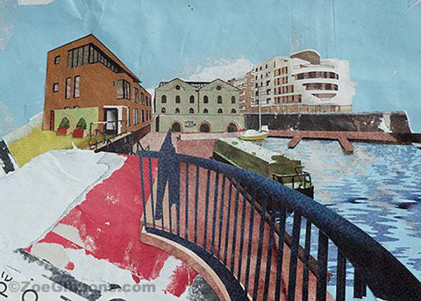 'Habourside' limited edition print - ZoeGibbons