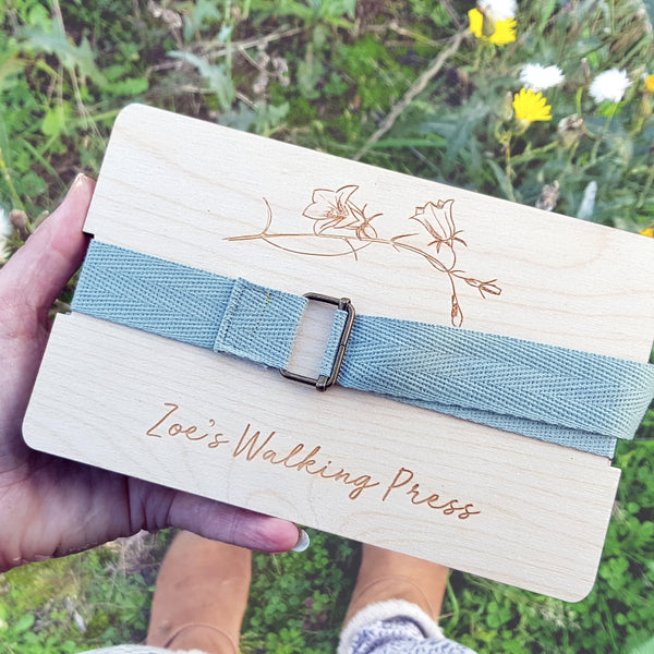 Personalised Travel Flower Press