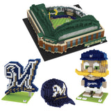 Milwaukee Brewers BRXLZ Collection